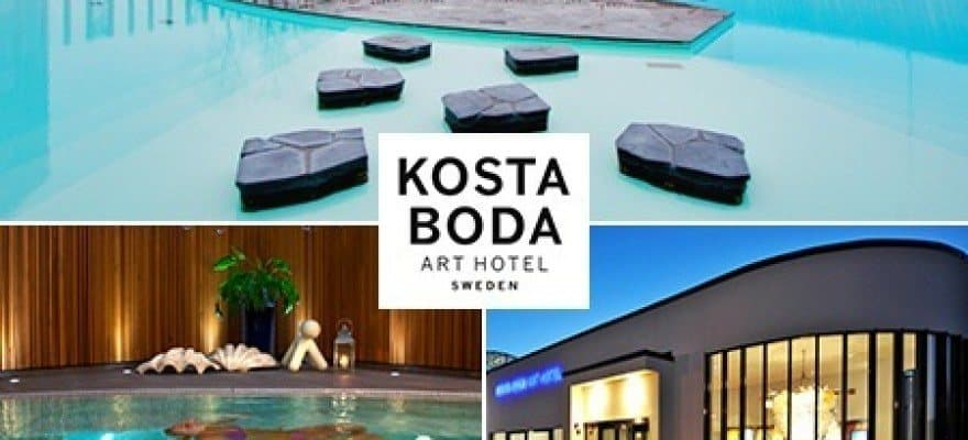 Groovy Kosta Boda Art Hotel - Nyd wellnessophold i Sverige AI-42