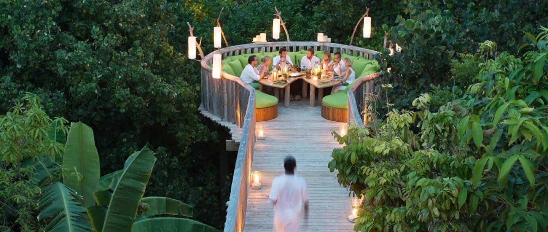 Dining on Sandbank - Soneva Fushi, Maldives by Dan Kullberg copy_1_1