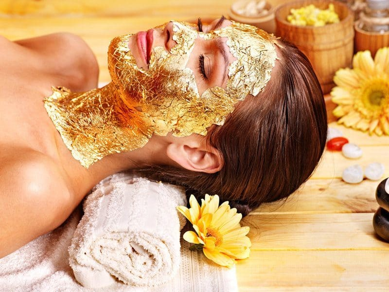 guld-ansigtsbehandling
