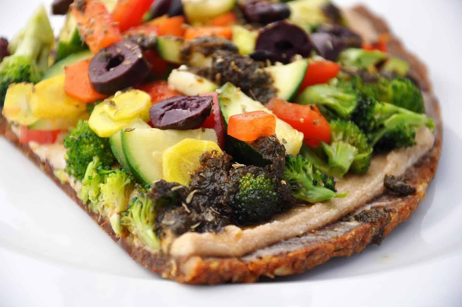 raw food Pizza - Purewellness.dk