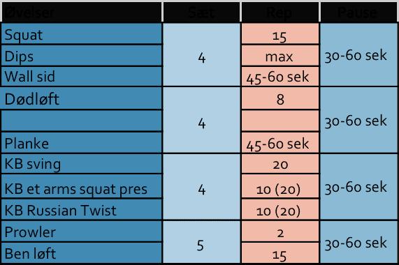 træningsplan - Få gode tips til træning - Purewellness.dk